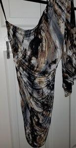 NWT forever 21 one shoulder mini dress